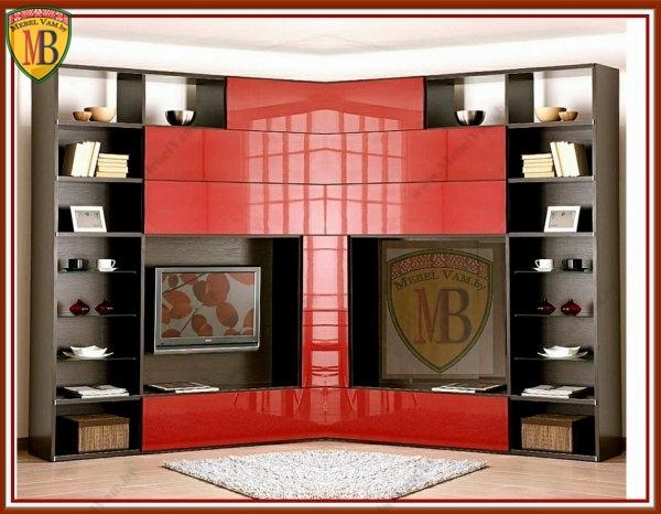 Мебель для гостиной в минске, стенки, горки под заказ.