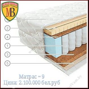 МАТРАС~9_Ортопедические_матрасы_Vegas_Минск