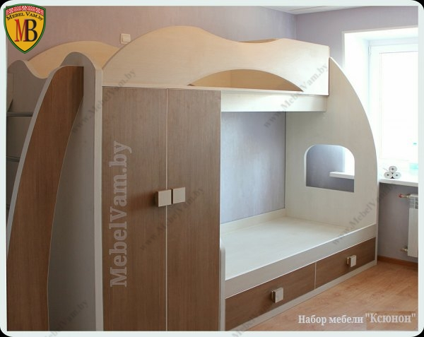 кровать детская к набору мебели