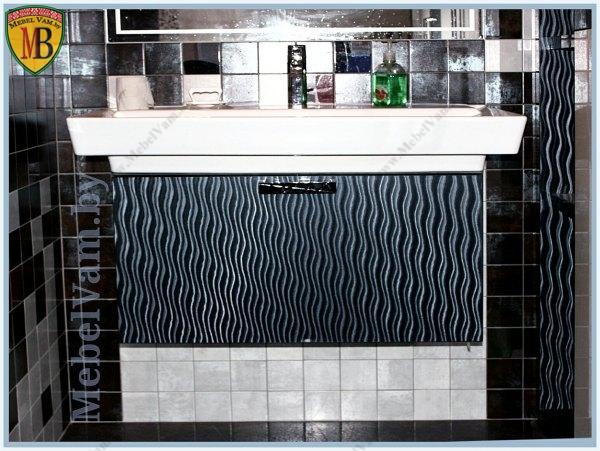 мебель для ванной~7478~дизайнерский проект~под заказ~корпус-влагостойкий