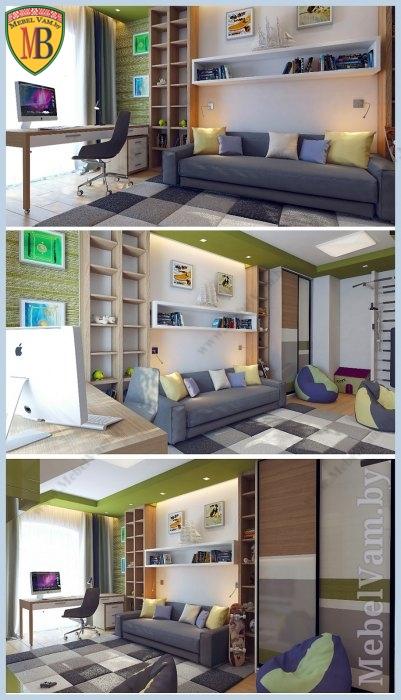 стенка для гостиной_486_заказная позиция_дизайн индивидуальный