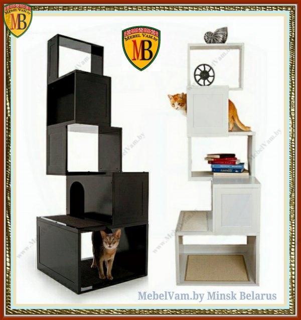 Домики для кошечек и собак