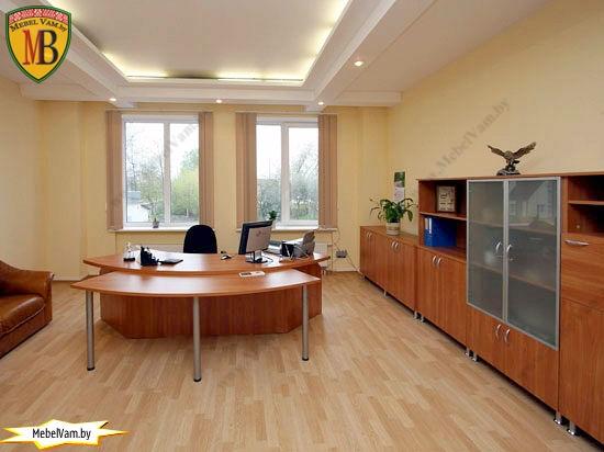 Кабинет руководителя_офисная мебель_в минске_под заказ_0023