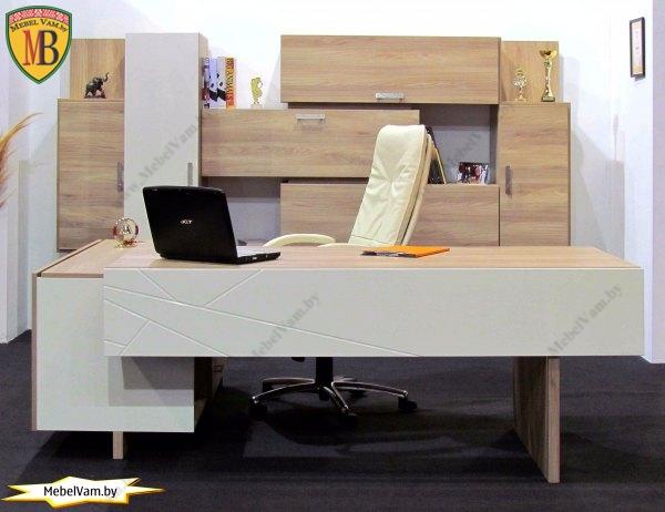Стол для руководителя_офисная мебель_в минске_под заказ_4078