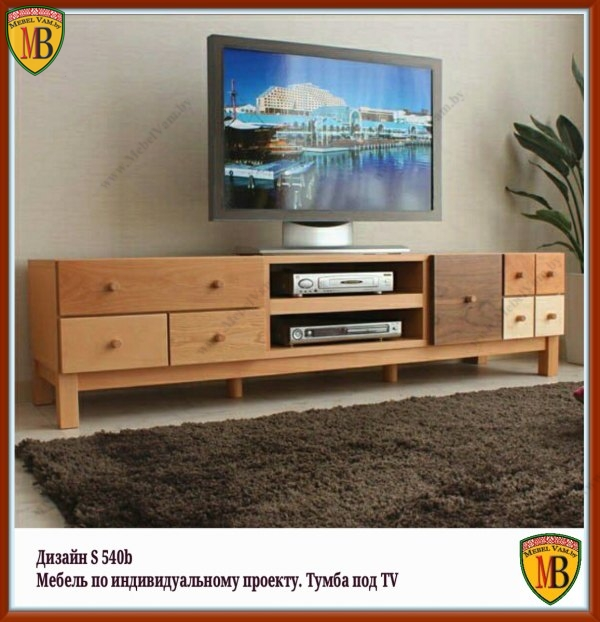 тумба под телевизор_514а_дизайнерская_мебель под заказ_страна происхождения Беларусь