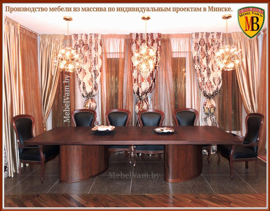 деревянные столы минск