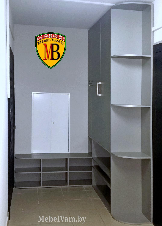Угловой шкаф для прихожей